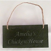 Engraved Chicken House Signs