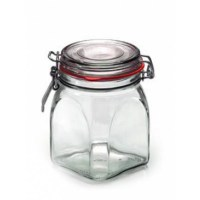 Engraved Glass Jars