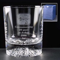 Alaska Lead Crystal 8oz Whisky Glass
