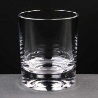 Balmoral Glass Rock 8oz Whisky Tumbler