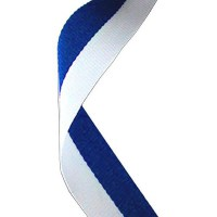 Medal Ribbon (Blue and White)