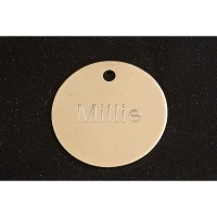 Disc Pet Tag