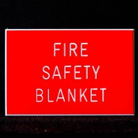 Fire Safety Blanket Sign