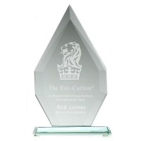 Large Flagstaff Jade Glass Award