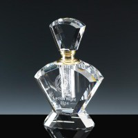 Optical Crystal Perfume Bottle
