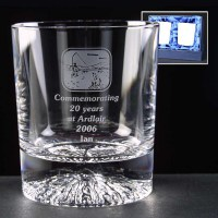 Pair of Alaska 8oz Whisky Glasses