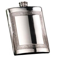 Pewter Mull Celtic Hip Flask