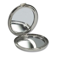 Round Compact Mirror