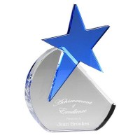 Small Aquamarine Star Award