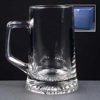 Stern 18oz Glass Tankard