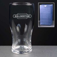 Railway Gift One Pint Beer Glass