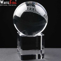Whitefire Cricket Ball with Base
