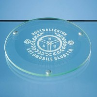 Round Glass Coaster